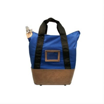 Heavy Duty Locking Courier Bag Royal Blue